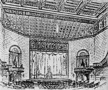 1922 National Theatre rendering.