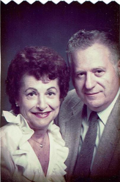Portrait of Mr. and Mrs. Stroud, avid theatre-goers