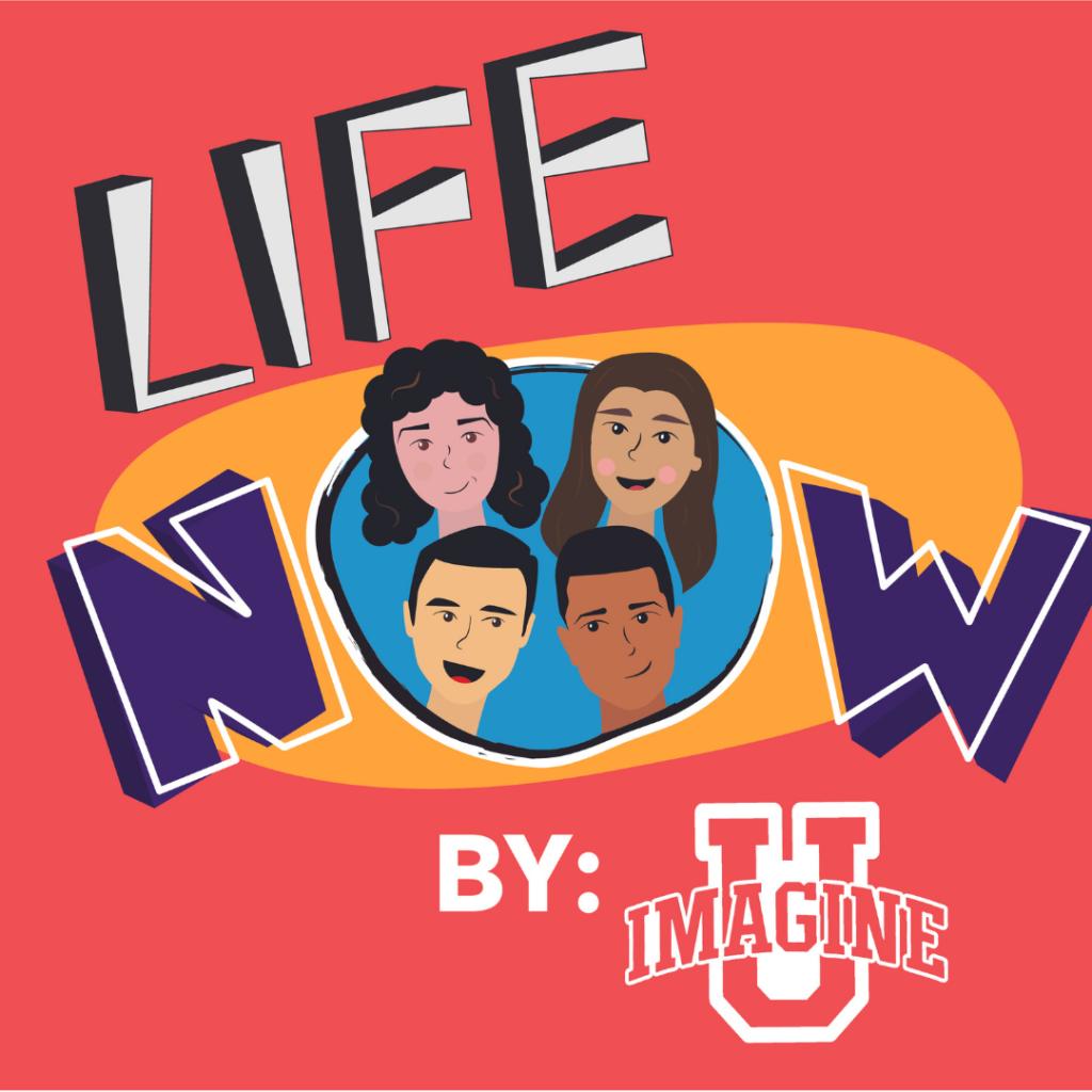 Logo for Northwestern University's Life Now virtual production.